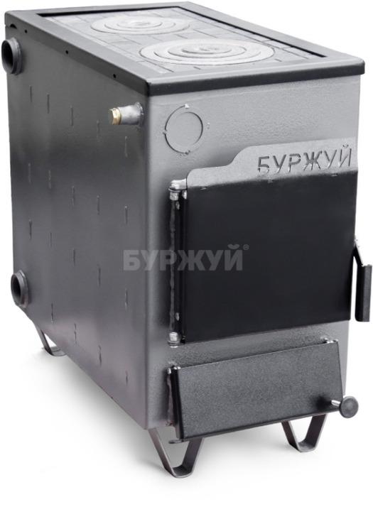Котел-плита Буржуй КП-18 кВт димохід назад (4 мм)