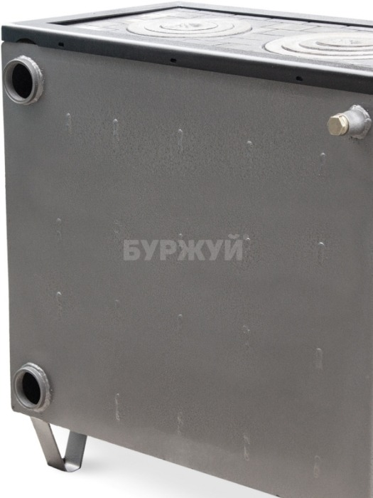 Котел-плита Буржуй КП-18 кВт димохід назад (4 мм). Фото 11