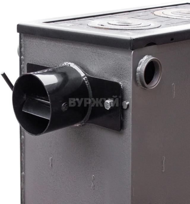 Котел-плита Буржуй КП-18 кВт димохід назад (4 мм). Фото 12