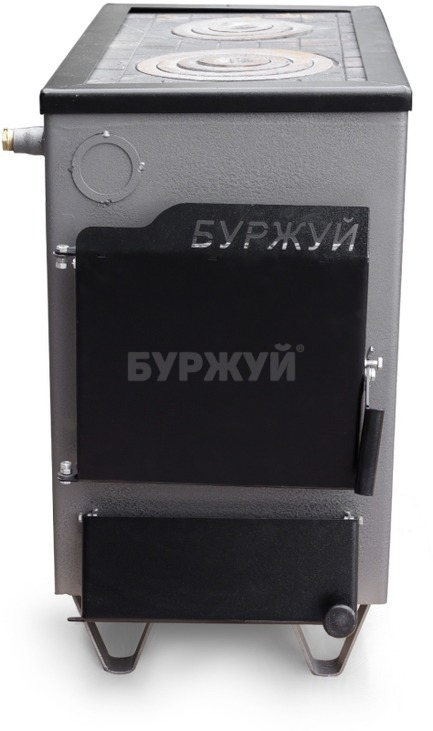 Котел-плита Буржуй КП-18 кВт димохід назад (4 мм). Фото 2