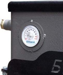 Котел-плита Буржуй КП-18 кВт димохід назад (4 мм). Фото 10