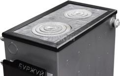 Котел-плита Буржуй КП-18 кВт димохід назад (4 мм). Фото 7