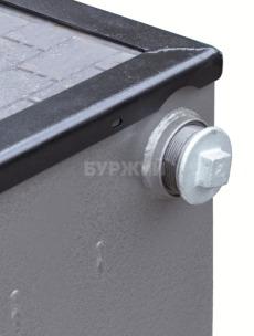 Котел-плита Буржуй КП-18 кВт димохід назад (4 мм). Фото 9
