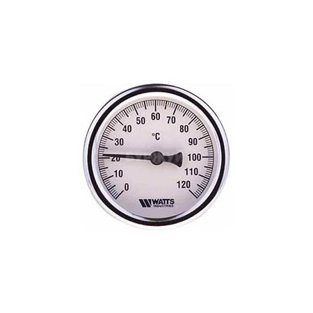 """Термометр погружной с латунной гильзой 1/2"""""""
