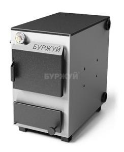Котел твердопаливний Буржуй К-20 кВт димохід назад (3 мм)
