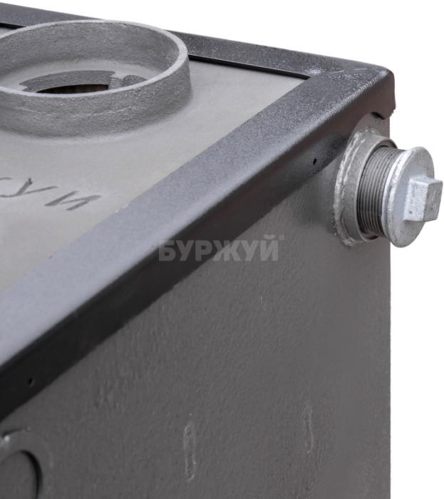 Котел-плита Буржуй КП-10 кВт димохід вверх (4 мм). Фото 5