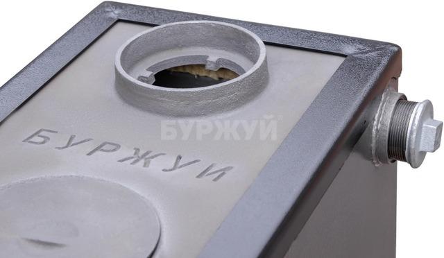 Котел-плита Буржуй КП-10 кВт димохід вверх (4 мм). Фото 6