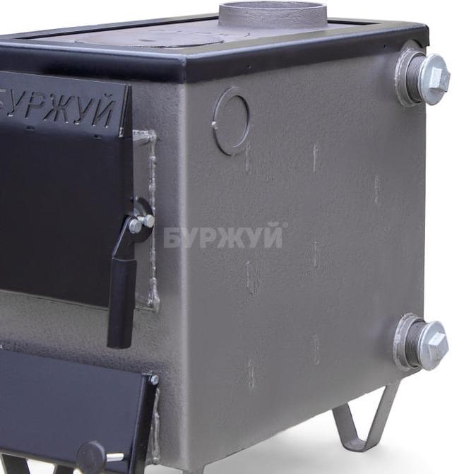 Котел-плита Буржуй КП-10 кВт димохід вверх (4 мм). Фото 9