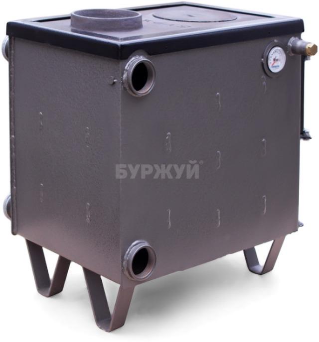 Котел-плита Буржуй КП-10 кВт димохід вверх (4 мм). Фото 14