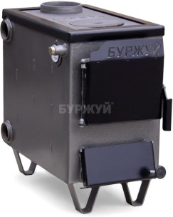 Котел-плита Буржуй КП-10 кВт димохід вверх (4 мм)