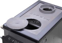 Котел-плита Буржуй КП-10 кВт димохід вверх (4 мм). Фото 7