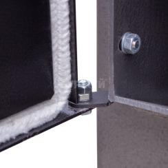 Котел-плита Буржуй КП-10 кВт димохід вверх (4 мм). Фото 8