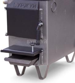 Котел-плита Буржуй КП-10 кВт димохід вверх (4 мм). Фото 11