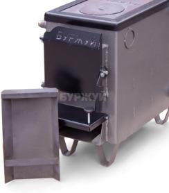 Котел-плита Буржуй КП-10 кВт димохід вверх (4 мм). Фото 12