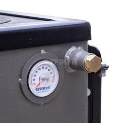 Котел-плита Буржуй КП-10 кВт димохід вверх (4 мм). Фото 13