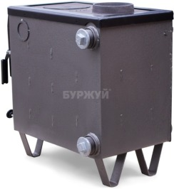 Котел-плита Буржуй КП-10 кВт димохід вверх (4 мм). Фото 15