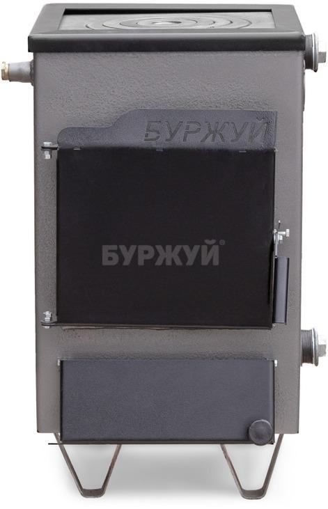 Котел-плита Буржуй КП-12 кВт дымоход назад (4 мм). Фото 2