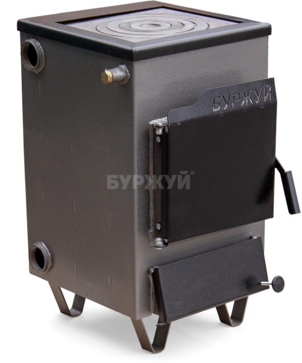 Котел-плита Буржуй КП-12 кВт дымоход назад (4 мм). Фото 3