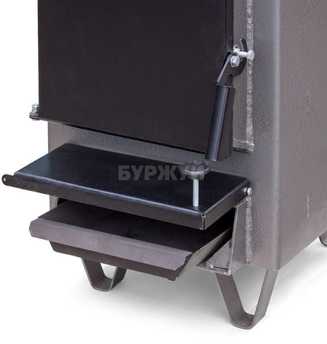 Котел-плита Буржуй КП-12 кВт дымоход назад (4 мм). Фото 7