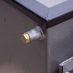 Котел-плита Буржуй КП-12 кВт дымоход назад (4 мм). Фото 4