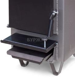 Котел-плита Буржуй КП-12 кВт димохід назад (4 мм). Фото 7