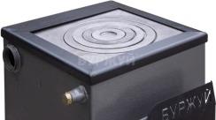Котел-плита Буржуй КП-12 кВт дымоход назад (4 мм). Фото 9