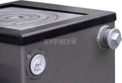 Котел-плита Буржуй КП-12 кВт димохід назад (4 мм). Фото 11