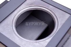 Котел-плита Буржуй КП-12 кВт дымоход назад (4 мм). Фото 12