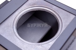Котел-плита Буржуй КП-12 кВт димохід назад (4 мм). Фото 12