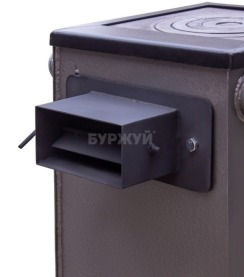 Котел-плита Буржуй КП-12 кВт димохід назад (4 мм). Фото 13